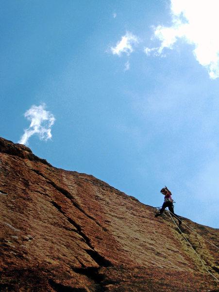 Rock Climbing Photo: Chicken McNugget