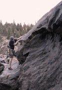 Rock Climbing Photo: Curve Block.