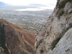 Rock Climbing Photo: Provo from Squawstruck, top of Pitch 20.