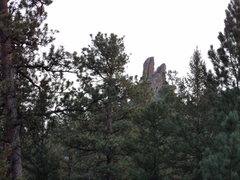 Rock Climbing Photo: What you see from the backcountry campsite area.