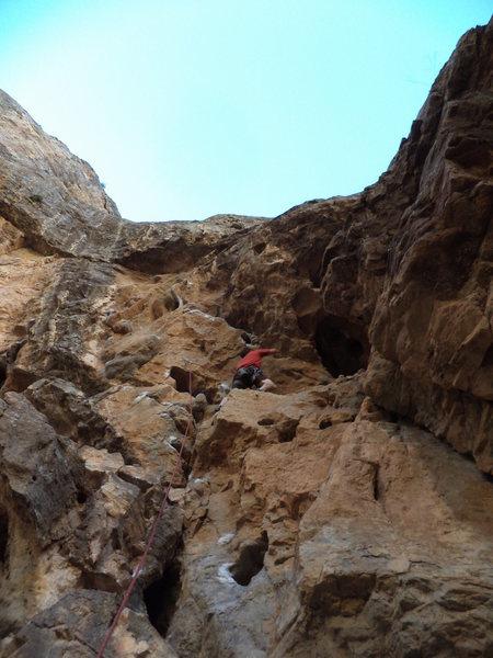Rock Climbing Photo: Big jugs