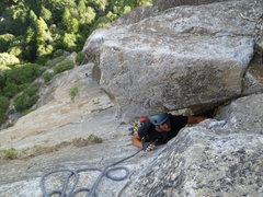 Rock Climbing Photo: Enter the dragon. No telling here which way she us...