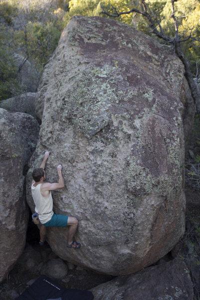 Rock Climbing Photo: Fun v2