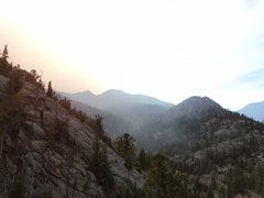 Rock Climbing Photo: From Cow Creek Canyon.