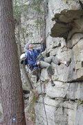 Rock Climbing Photo: Ben, visiting Gunks again