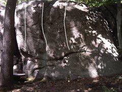 Rock Climbing Photo: Right side of Best Kept Secret. 1. Keep No Secrets...