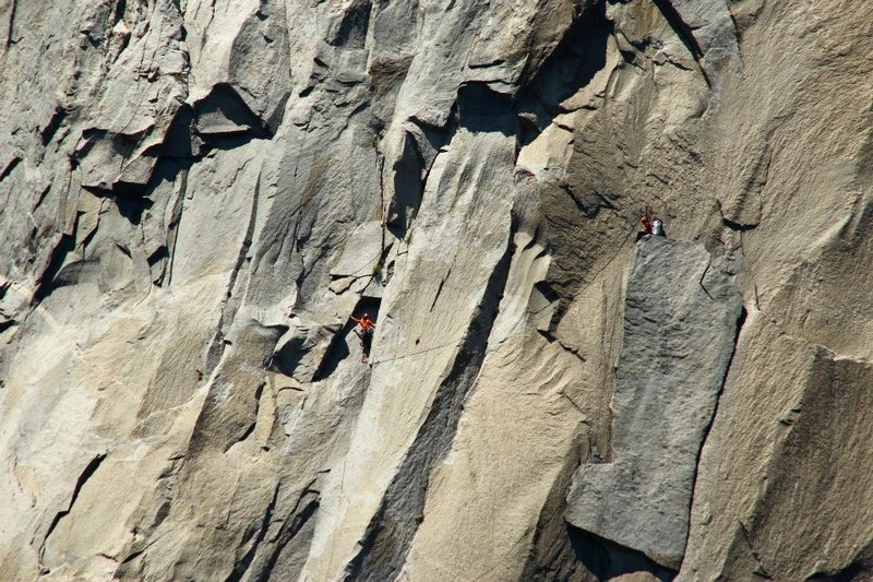 Rock Climbing Photo: After the King Swing, with Alan Cooney Courtesy of...