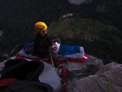 Rock Climbing Photo: Camp 4 bivi