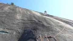 Rock Climbing Photo: No Alternative