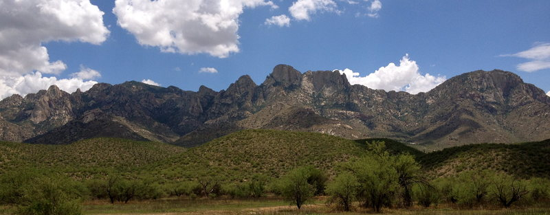 Rock Climbing Photo: Pusch Ridge Area