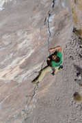 Rock Climbing Photo: Clark Eising redpointing Posers on the Rig Photo: ...