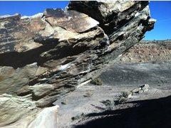 Rock Climbing Photo: Natural Selection beta.