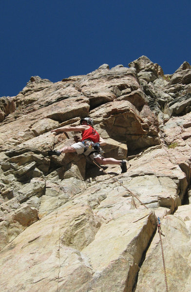 Rock Climbing Photo: Fun route, the moves will surprise you.