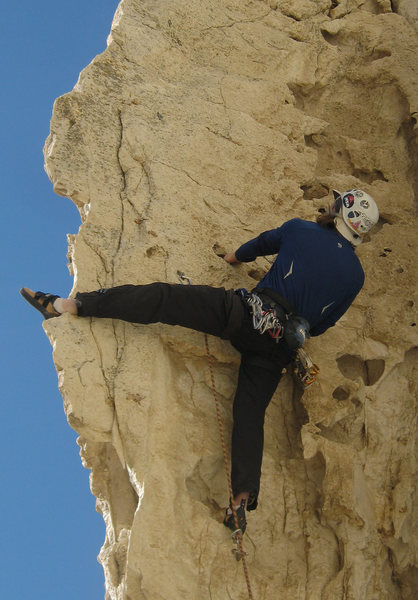 Rock Climbing Photo: Seriously fun route and you can make it easier or ...
