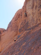 Rock Climbing Photo: Lee and Laura on Soul to Bear.