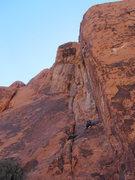 Rock Climbing Photo: Ocean half way home.