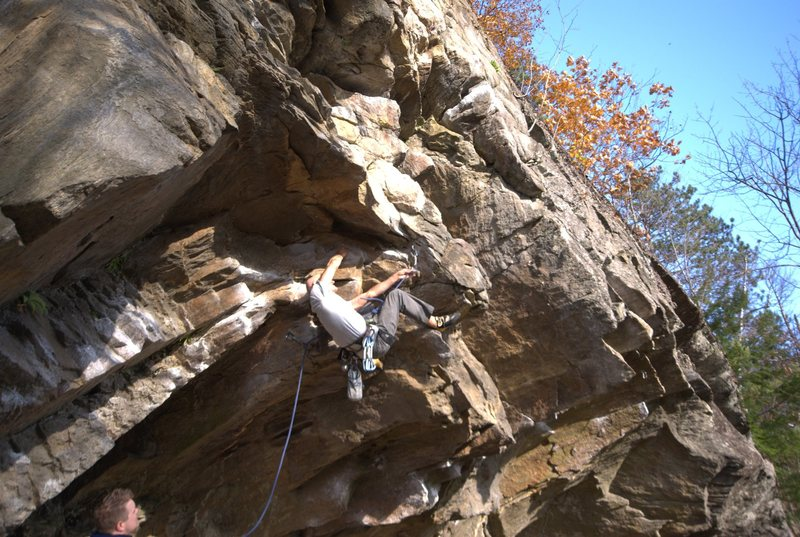 Rock Climbing Photo: This clip was scary to watch. :)