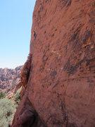 Rock Climbing Photo: Gary on Hippie Vest.