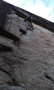 Rock Climbing Photo: Elusive Dream, King Wall,Chapel Pond Pass, ADK