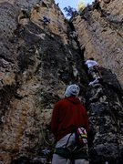 Rock Climbing Photo: The climber on the right is on San Francisco.  4th...