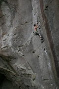 Rock Climbing Photo: good perspective of the steepness