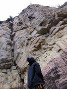 Rock Climbing Photo: Albert's Arete.  One of my favorites.