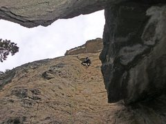 Rock Climbing Photo: Chalkstoned... good route, really needs more traff...