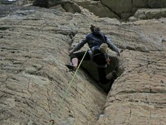 Rock Climbing Photo: Lorrizzo gettin after it on Chalkstoned.