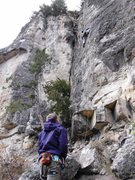 Rock Climbing Photo: Ninja