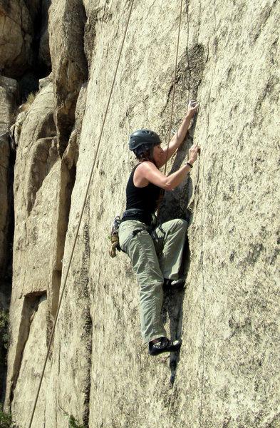 Rock Climbing Photo: top-roping Seam Dream