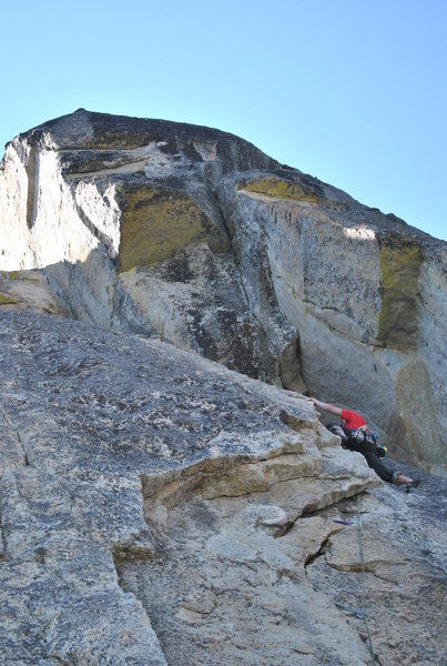 Rock Climbing Photo: one long pitch with awesome features