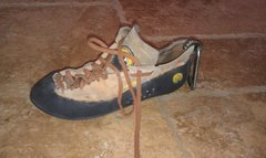Rock Climbing Photo: Lonely left shoe
