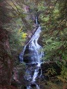 Rock Climbing Photo: Said waterfall