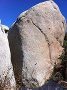 Rock Climbing Photo: Her Scar