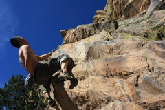 Rock Climbing Photo: more chalk