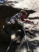 Rock Climbing Photo: 5.11b