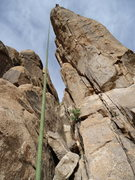 Rock Climbing Photo: Naked Prey (12a), from the Climbing AZ guide is th...