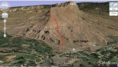 Rock Climbing Photo: The Palisade approach.