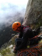 Rock Climbing Photo: Getting ready for the final two pitches after lunc...