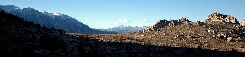 Rock Climbing Photo: Buttermilks afternoon