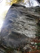 Rock Climbing Photo: Main Wall right arete.