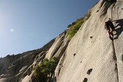 Rock Climbing Photo: Bushwhack Crack, LCC