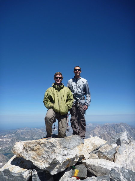 The Grand Teton summit with John.
