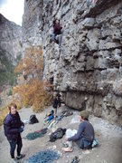 Rock Climbing Photo: Climbing Twist & Shout in AF