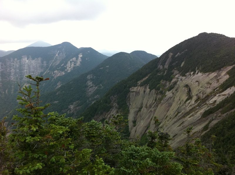 Rock Climbing Photo: South face of Gothics (Aug 2011)