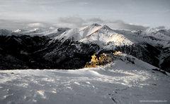 Rock Climbing Photo: Lackawanna seen at last light from La Plata Peak.