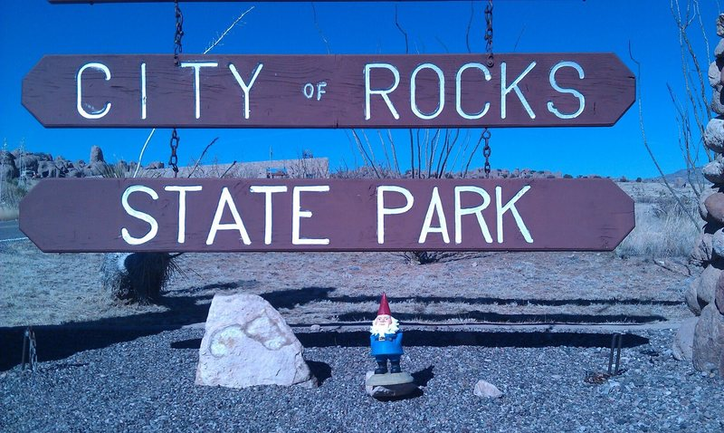 Rock Climbing Photo: Gnome at the City of Rocks