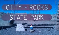 Gnome at the City of Rocks