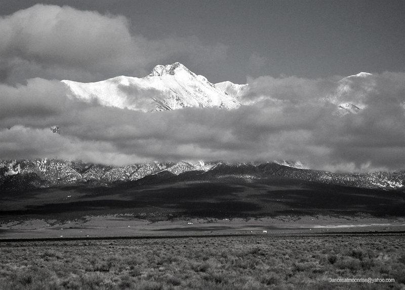 Blanca Peak, Christmas Day 2010.