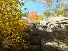 Rock Climbing Photo: Spruce hill crag...